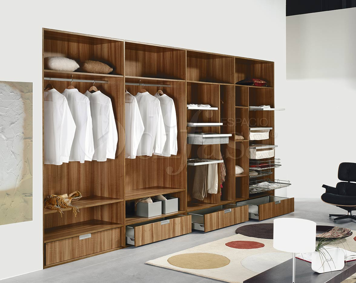 Interiores de armarios difasa espacios y armarios a medida for Interior de armarios ikea