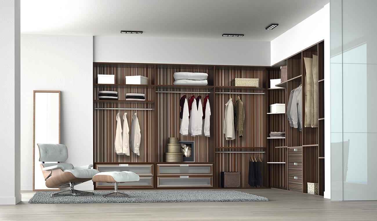 Interiores de armarios difasa espacios y armarios a medida for Armarios empotrados modernos